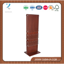 Customized Double Sided 20 Pockets Poster Stand with Acrylic Panel