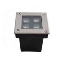 4W IP67 quadrada LED para degraus embutida na parede
