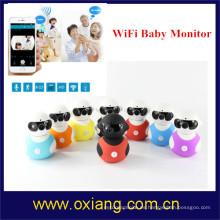 Baby Monitor con cámara de seguridad inalámbrica 2 vías Talk Audio IR LED Night Vision