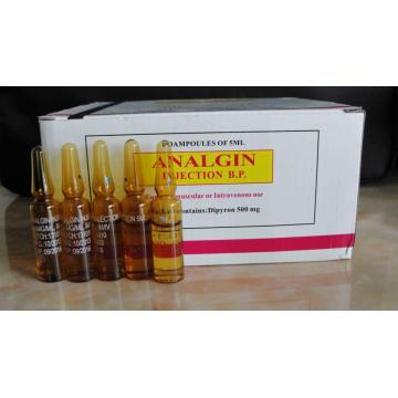 Analgin/ Metamizole Injection 5ML