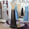 Sexy See Through Rhinestone Mermaid Evening Dresses 2016 Real Sample Vestido De Festa Longo Frete Grátis High Quality ML191