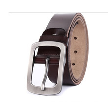 New design man's leather belt