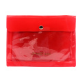 Rot-Druck-Logo-PVC-Plastiktaschen