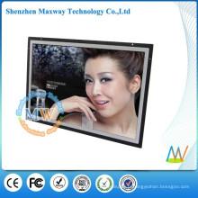 HD 17 pouces ouvert cadre lcd totem numérique