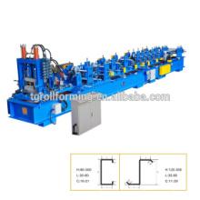 Schlussverkauf ! Hochgeschwindigkeits-Automatik-CZ-Pfetten-Wechselwalze-Umformmaschine
