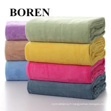 Tissu bon marché et confortable à la flanelle en coton 100% imprimé de haute qualité
