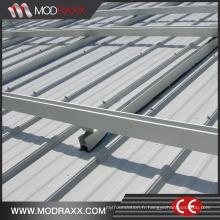 Système de montage de toit en aluminium de puissance verte (XL208)