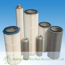 2015 alibaba china fornece filtro de óleo de aço inoxidável filtros de malha de arame