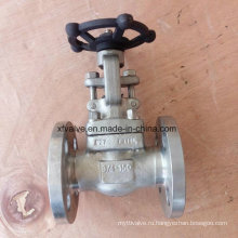API602 150lb Фланцевый запорный клапан F316L из кованой нержавеющей стали