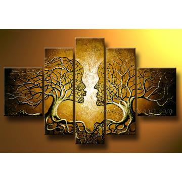 Ручная роспись Холст Современная домашняя картина украшения (LA5-050)