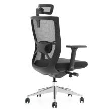 Hochwertige ergonomische Design Mesh Black Frame Nylon Swivel Bürostuhl