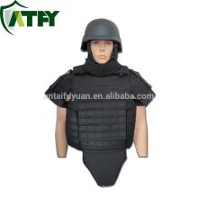 Exército uniforme militar Armadura de corpo inteiro à prova de balas colete armadura kevlar terno