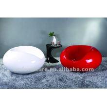 Populaire belle chaise en fibre de verre haute brillance