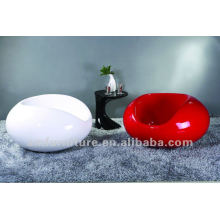 Popular beautiful high gloss fiberglass chair