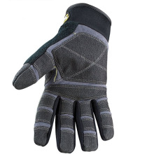 Custom Gray Cotton Warm Equipment Training Gloves
