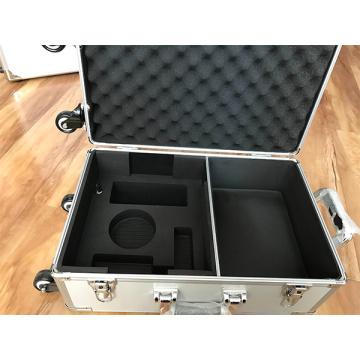 Boîte en alliage d'aluminium avec doublure en EVA