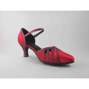 Chaussure de bal rouge fille IA