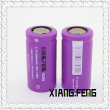 3.7V Xiangfeng 16340 600mAh 8A Imr wiederaufladbare Lithium-Batterie Die besten wiederaufladbaren Batterien