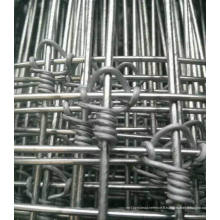 Clôture en béton à charnière galvanisée