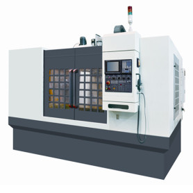 CNC Milling Machine With Fanuc Control