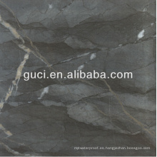 azulejo de piso negro 24x24 y pisos felices baldosas de porcelana