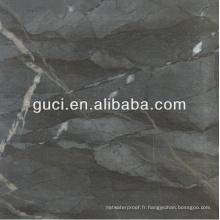 Carrelage noir 24x24 et carreaux de porcelaine