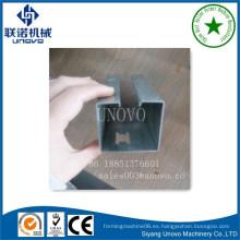 Sección C personalizada perfil de acero formado en frío