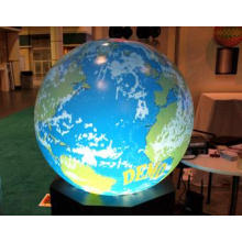 0.8m Interactive Spherical Display System