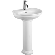 Pedestal Bathroom Sink Basin Classic Sanitary Ware
