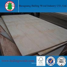Contraplacado de alto grau de obturador de pinho para construção