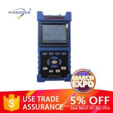 PG-1200B fibra óptica palm otdr con 1310 / 1550nm 32 / 30dB rango dinámico con VFL