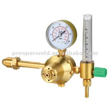 Flowmeter regulator with brass