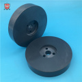 OEM insulating electronic Si3N4 ceramic disc disk plate