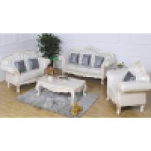 Sofá de couro clássico para móveis de sala de estar (987A)