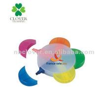 5 en 1 flor en forma de rotulador pluma para la promoción
