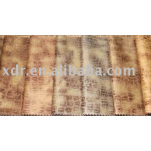 Embossed Warp Knitting Suede Fabric For Garment & leather jacket