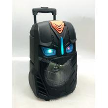 PSD-8002 8 Inch Trolley Speaker Portable Logo Custom Gfts For Men Rechargeable Wireless Speaker