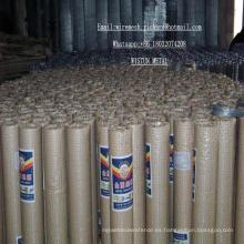 Malla de alambre soldada Ss galvanizada de 1/4 pulgada para un mayor procesamiento
