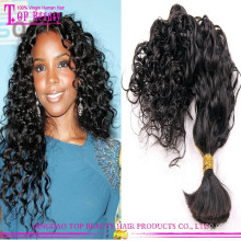 Cheap wholesale brazilian hair bulk 100% virgin brazilian bulk hair extensions without weft