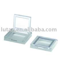 Praça de plástico Eyeshadow Palette embalagem cosmética