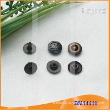 Art und Weise kundenspezifische Firmenzeichen-Metalljeans-Niet BM1441