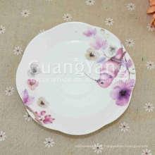 Melhor preço personalizado Design cerâmica cerâmica café da manhã louça conjunto