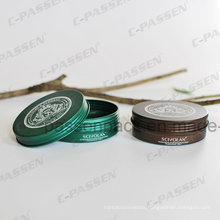 Printed Metal Aluminum Cosmetic Cream Jar