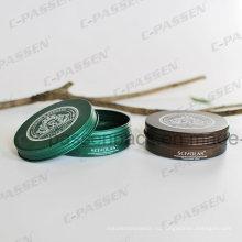 Напечатанный Металл Алюминиевый Косметические Jar Крем
