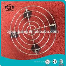 Metal Chrome 30cm Suporte de jarro de gás / Cilindro Rack
