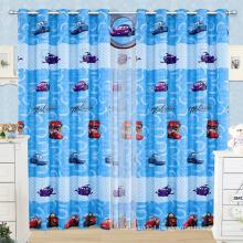 cartoon window curtain / kids curtains/kids curtain patterns