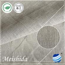 55% de linho 45% de tecido de algodão para camisa