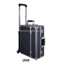 Nueva llegada--lujo aluminio portátil carretilla del equipaje por mayor de China fábrica
