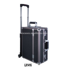 new arrival--luxury portable aluminum luggage trolley wholesale from China factory