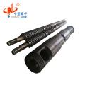 bimetallic screw and barrel for plastic extruder machine